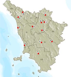 aree toscana