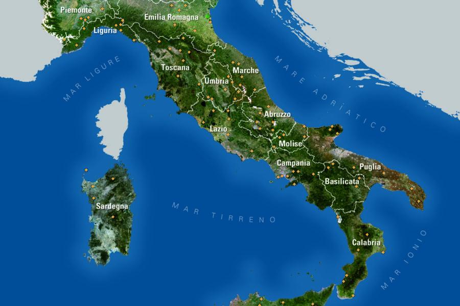 Ricerca sui paesaggi rurali storici italiani