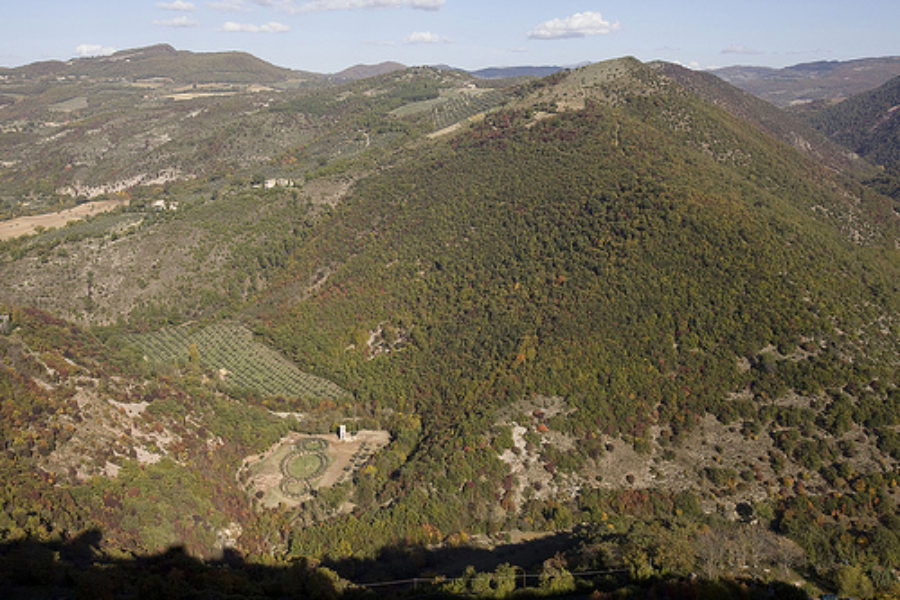 Landscape and environmental restoration of the San Francesco Wood in Assisi