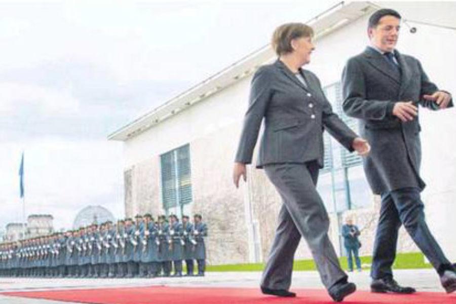 Quale gioiello di famiglia  per la Merkel?