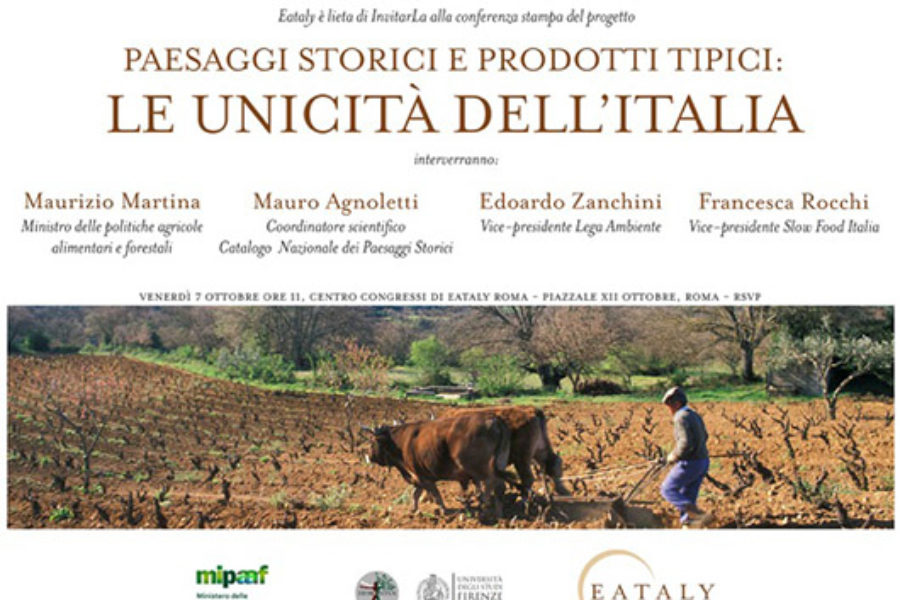 Paesaggi storici e prodotti tipici: le unicità d'Italia.