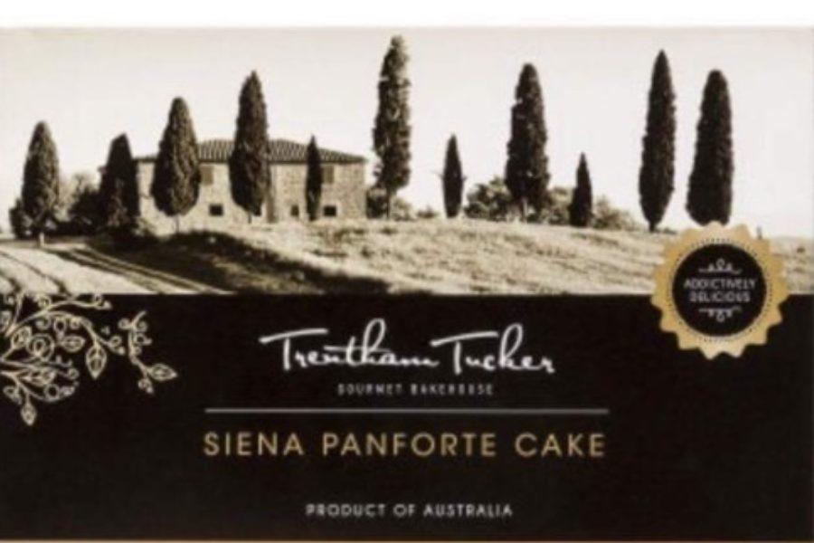 Paesaggio e panforte (australiano) di Siena